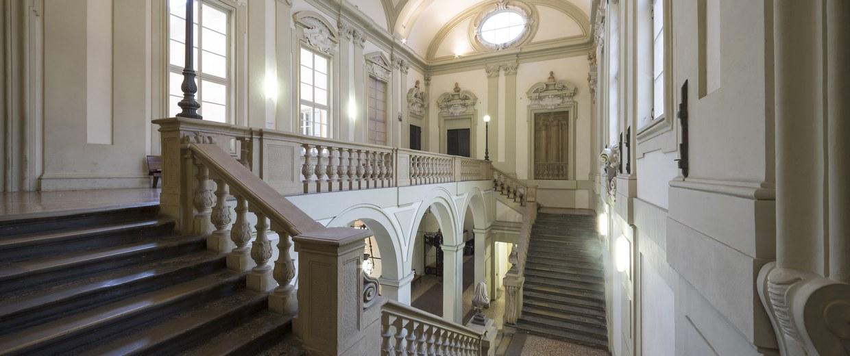 Palazzo Marescotti Brazzetti (Giovan Giacomo Monti, Scalone) - ph. ©Antonio Cesari